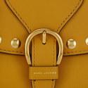 Studded Navigator Saddle Bag Small, ${color}