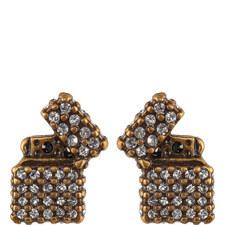Diamond Lighter Stud Earrings