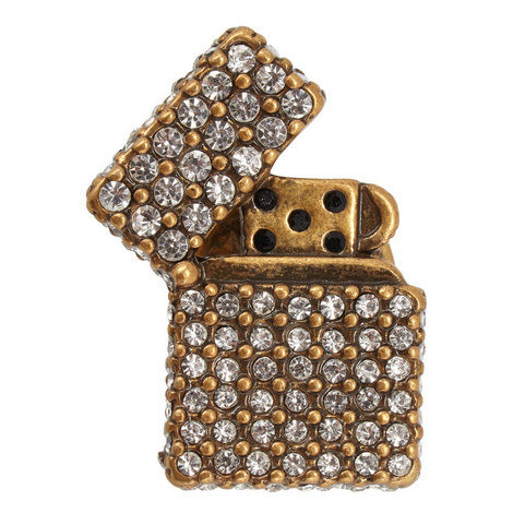 Encrusted Lighter Pin, ${color}