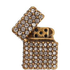 Encrusted Lighter Pin