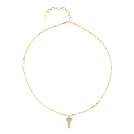 Key Pendant Necklace, ${color}