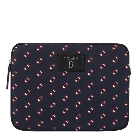 Monogram Scream Laptop Case, ${color}