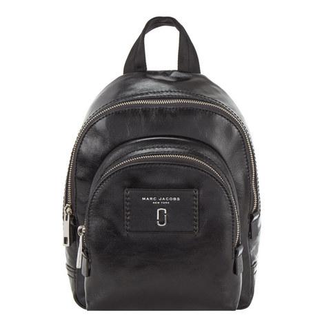 Double Zip Backpack Mini, ${color}