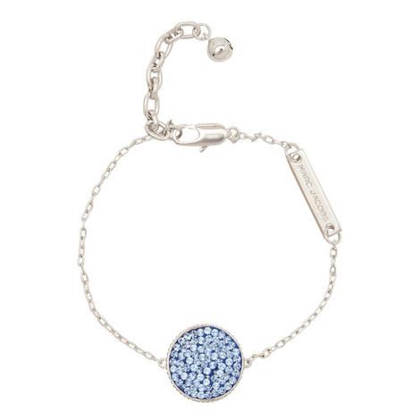 Crystal Pavé Disc Bracelet, ${color}