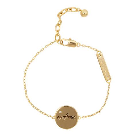 Medallion Chain Bracelet, ${color}