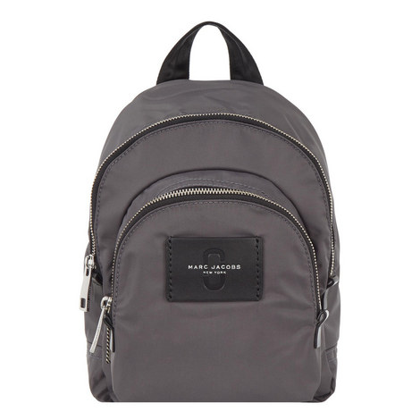 Double Zip Backpack Mini, ${color}