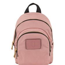 Double Zip Backpack Mini
