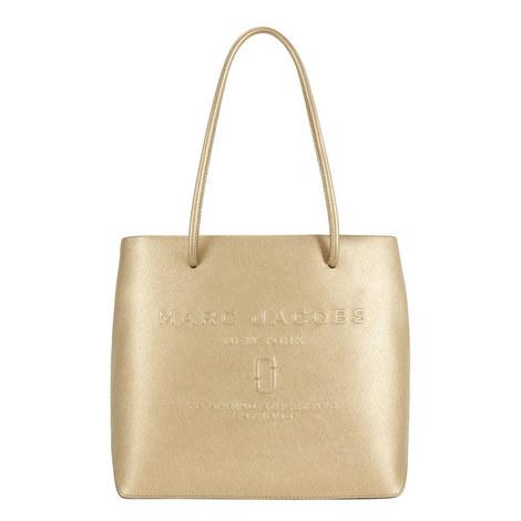 Logo East West Tote Bag, ${color}