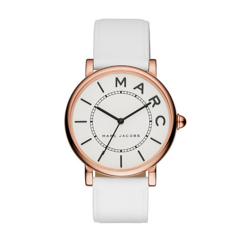 The Roxy Leather Watch 36mm, ${color}