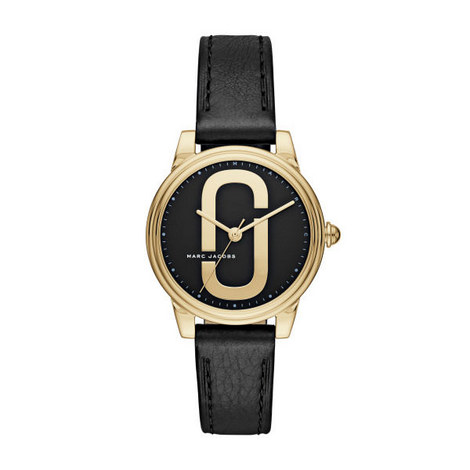Corie Leather Watch 36mm, ${color}
