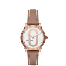 Corie Leather Watch 36mm