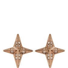 Brilliance Star Stud Earrings