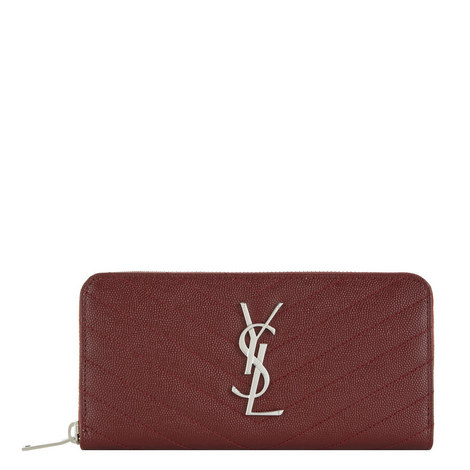 Monogram Matelassé Wallet, ${color}