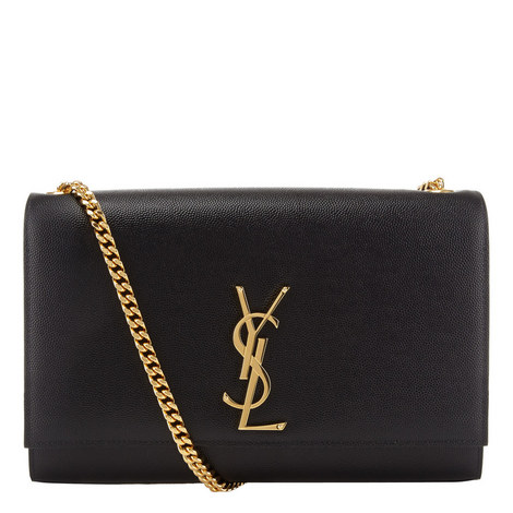 Kate Monogrammed Chain Bag Medium, ${color}