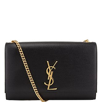 Kate Monogrammed Medium Chain Bag