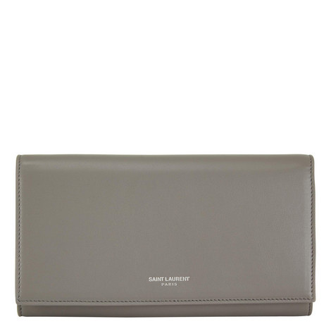 Leather Flap Wallet, ${color}