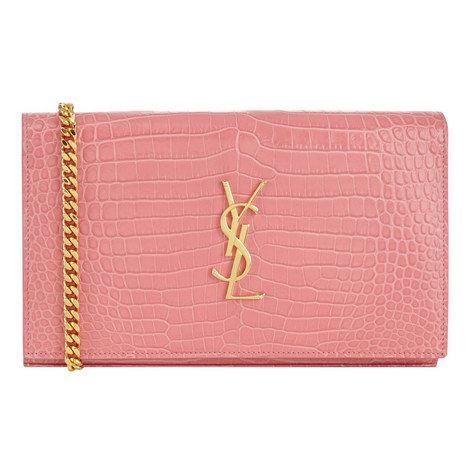 Monogram Crocodile Clutch Wallet, ${color}