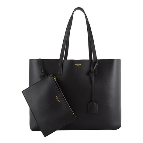 Leather Shopping Bag, ${color}