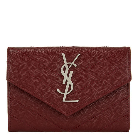 Monogram Matelassé Purse, ${color}