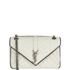 Monogram Leather Bag Medium