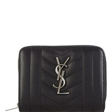 Monogram Quilted Wallet