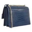 Sunset Crocodile Shoulder Bag Medium, ${color}