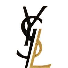 Deconstructed Logo Earrings