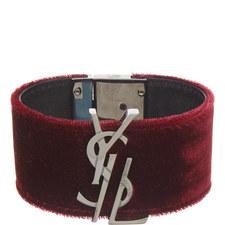 Monogram Velvet Bracelet