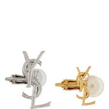 Double Clip Earrings