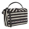 Monogram Ikat College Bag Large, ${color}