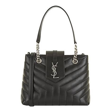 Lou Lou Small Monogram Shopper Bag, ${color}