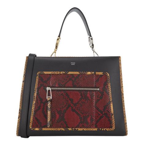 Runaway Python Tote Bag, ${color}