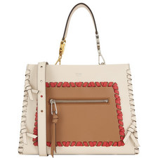 Lace-Up Runway Tote Small