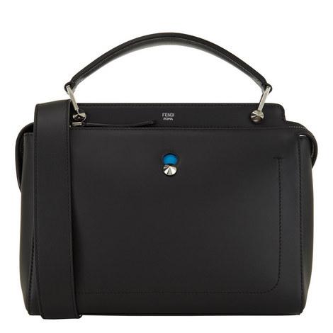 Dotcom Leather Top Zip Bag, ${color}