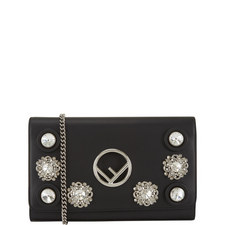 Crystal Chain Wallet Bag