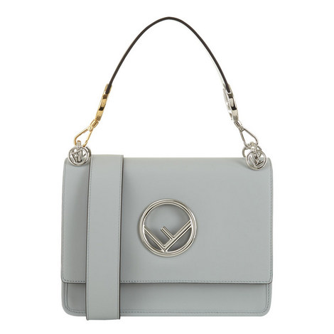 KAN I Logo Shoulder Bag, ${color}