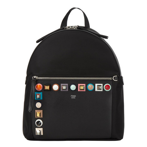 Leather Stud Backpack, ${color}