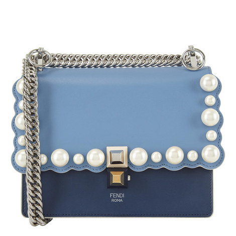 KAN I Pearl Scalloped Shoulder Bag, ${color}