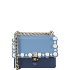 KAN I Pearl Scalloped Shoulder Bag