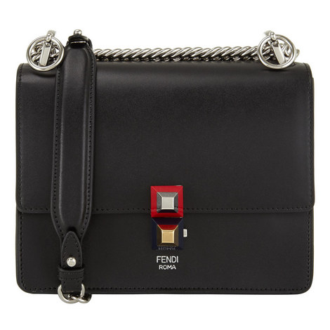 KAN I Leather Chain Bag, ${color}