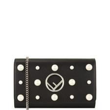 Chain Wallet Pearl Bag
