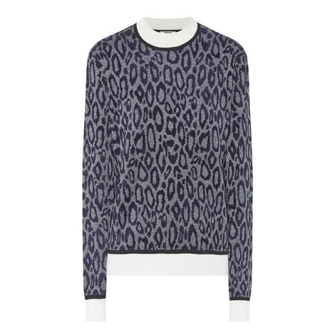 Giselle Animal Print Sweater, ${color}