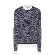 Giselle Animal Print Sweater