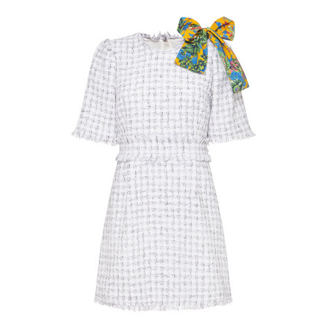 Tweed Bow Dress, ${color}