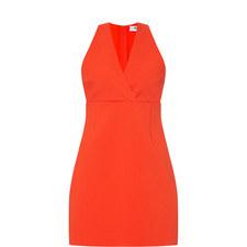 V-Neck Mini Dress