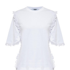 Macramé Lace Trim T-Shirt
