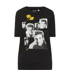 Elvis Collage Sweater