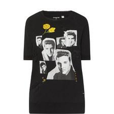 Elvis Collage Sweater