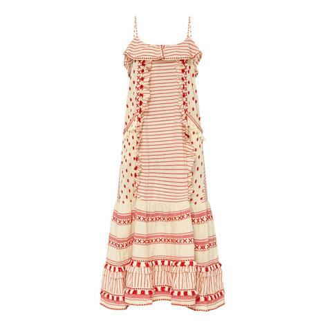 Peeri Sleeveless Swing Dress, ${color}
