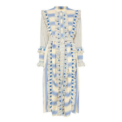 Essco Ruffle Dress, ${color}